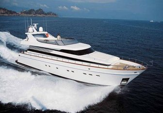 Tamaya charter yacht exterior designed by Cantieri di Pisa