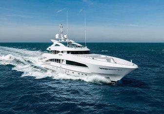 White yacht charter Heesen Motor Yacht