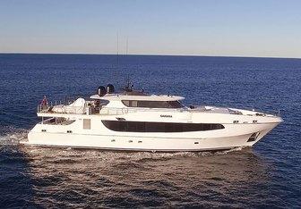 Sahana yacht charter Oceanfast Motor Yacht