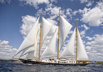 Fleurtje yacht charter De Vries Lentsch Sail Yacht