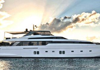 Morning Star yacht charter Sanlorenzo Motor Yacht