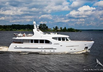Аэлита Yacht Charter in Baltic Sea Region