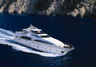 Hye Seas II yacht charter Azimut Motor Yacht