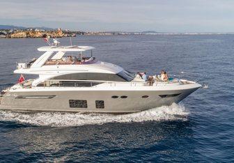 Free Soul yacht charter Princess Motor Yacht