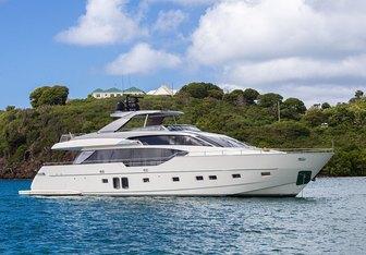 Akula yacht charter Sanlorenzo Motor Yacht