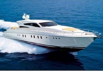 Sea Lady charter yacht interior designed by Dalla Pietà