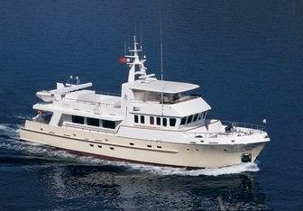Tivoli charter yacht interior designed by Vripack