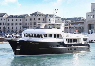 Samsara yacht charter Maxi Motor Yacht