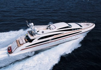 Samja charter yacht exterior designed by Andrea Bacigalupo