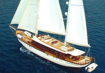 Riana yacht charter Neta Marine Motor/Sailer Yacht