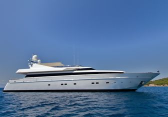 Mabrouk charter yacht exterior designed by Cantieri di Pisa
