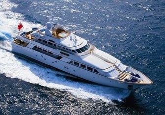Lady J yacht charter Palmer Johnson Motor Yacht