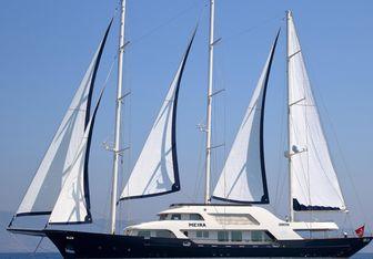Meira yacht charter Neta Marine Motor/Sailer Yacht