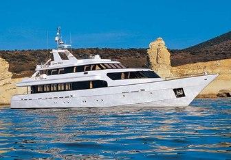 Carmen Fontana yacht charter Marine Industrial Technologies Motor Yacht