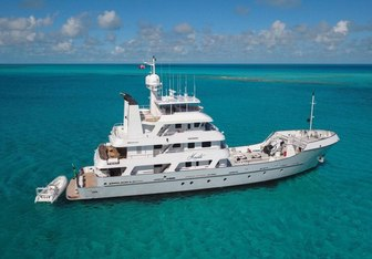 Friendly Confines yacht charter Hike Metal Works Motor Yacht