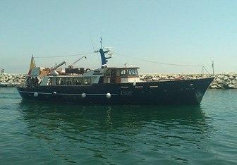 Falcao Uno yacht charter Van de Voorde Motor Yacht
