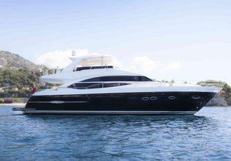 Moka yacht charter Princess Motor Yacht