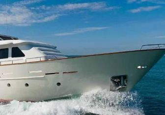 Laziza charter yacht exterior designed by Benetti Sail Division