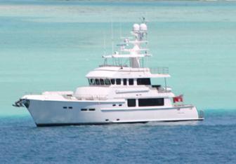 Beyond Capricorn yacht charter Nordhavn Motor Yacht