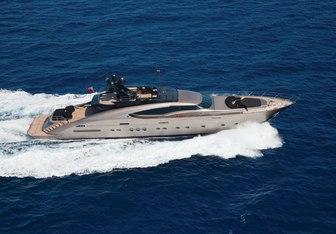 Griffin yacht charter Palmer Johnson Motor Yacht