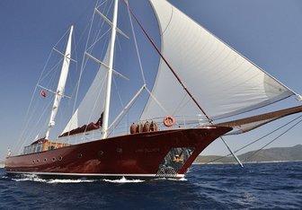 Casa Dell Arte II yacht charter ADA Yacht Works Sail Yacht