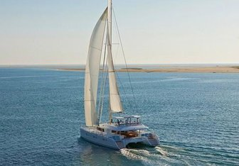 Cat And The Fiddle yacht charter CNB Sail Yacht
