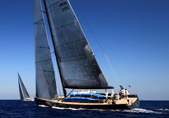 Aesop yacht charter Wally Sail Yacht
