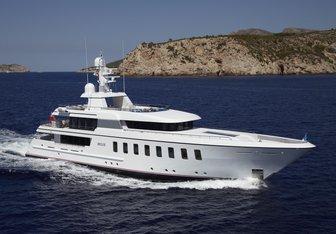Megan yacht charter Feadship Motor Yacht