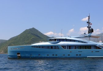 Philmx charter yacht exterior designed by Andrea Vallicelli