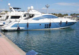 Sabea Mea yacht charter Azimut Motor Yacht