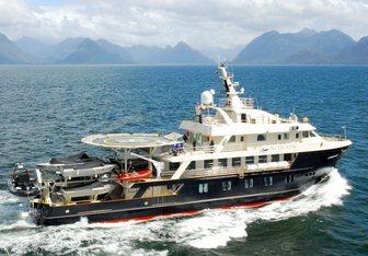 Atmosphere yacht charter Asenav Motor Yacht