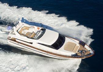 Acionna yacht charter Sanlorenzo Motor Yacht