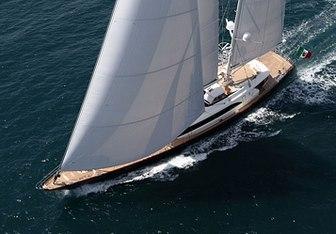 Fidelis yacht charter Perini Navi Sail Yacht