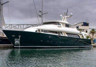 Sunshine of Spain yacht charter Custom Line Motor Yacht