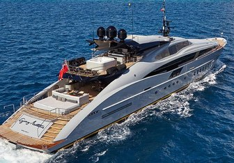 Andiamo yacht charter Palmer Johnson Motor Yacht