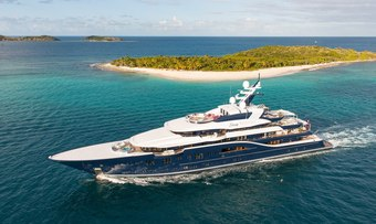 Solandge yacht charter Lurssen Motor Yacht