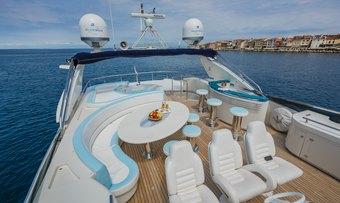 Vellmari yacht charter lifestyle