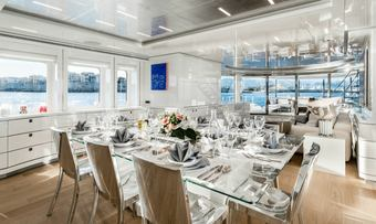 Her Destiny yacht charter lifestyle