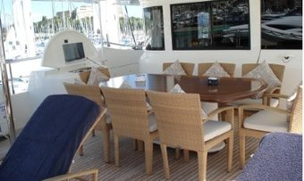 Lady Soul yacht charter lifestyle