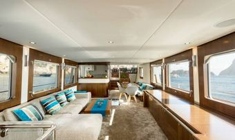 Monara yacht charter lifestyle