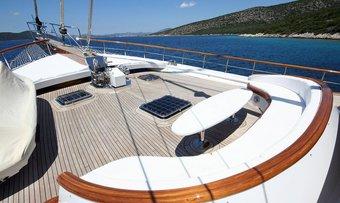 Caner IV yacht charter lifestyle