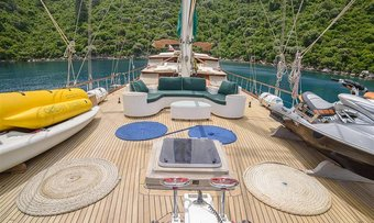 Grande Mare yacht charter lifestyle
