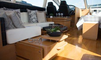 Grey yacht charter lifestyle