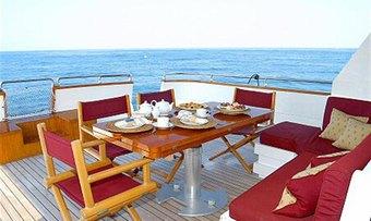 Jaan yacht charter lifestyle