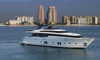 Bodacious yacht charter Sanlorenzo Motor Yacht