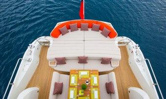 BST Sunrise yacht charter lifestyle