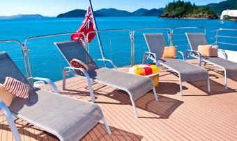 Cosmos II yacht charter lifestyle