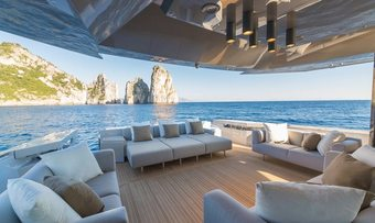 Boom Shakalaka yacht charter lifestyle