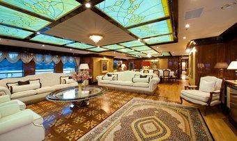 Idyllic yacht charter lifestyle
