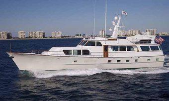 Grindstone yacht charter Broward Motor Yacht
